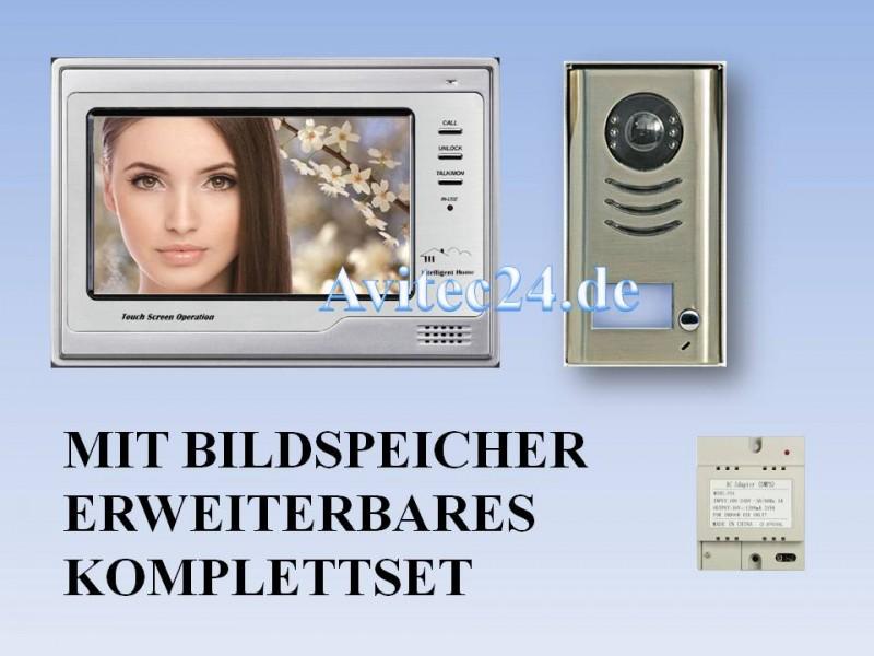 video t rsprechanlage 4 draht bildspeicher d591 692 set. Black Bedroom Furniture Sets. Home Design Ideas