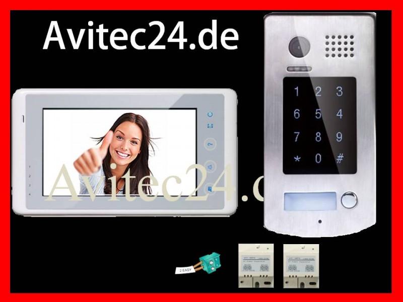 video t rsprechanlage dt596 6927w sd bildspeicher sony ccd zutritt per code. Black Bedroom Furniture Sets. Home Design Ideas